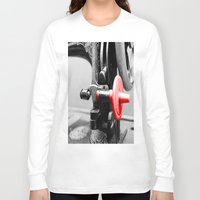 sewing Long Sleeve T-shirts featuring Sewing Machine by Four Hands Art