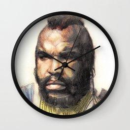 B.A. Baracus or Mr. T from the A-Team by Aaron Bir Wall Clock