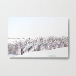 Rhode Island Winter 2015 Metal Print