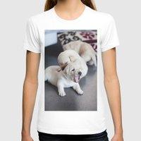 labrador T-shirts featuring Labrador Puppy by Diandra