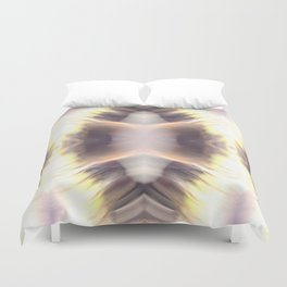 Abstract Feathered Print Duvet Cover