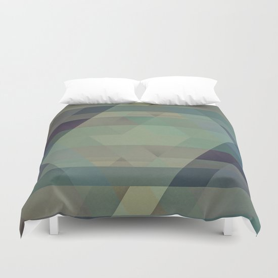 The Clearest Line VIII Duvet Cover