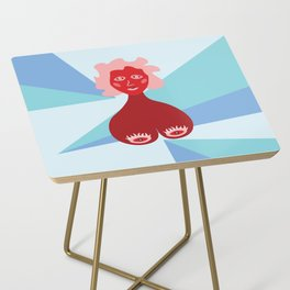 Womyn's Day Side Table