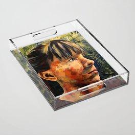 Girl Acrylic Tray