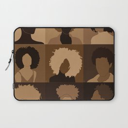 FOR BROWN GIRLS COLLECTION COLLAGE Laptop Sleeve