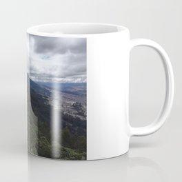 Cloudy view of Bogotá Coffee Mug