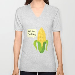 So Corny! Unisex V-Neck