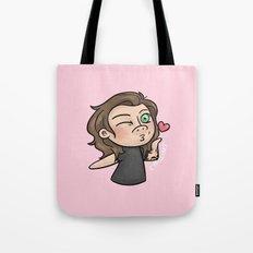 Emoji Kisses: Harry Tote Bag