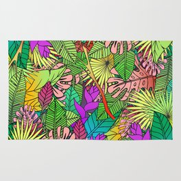 Crystal Jungle Rug
