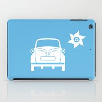 bmw iPad Cases featuring BMW Isetta by Clemens Hellmund