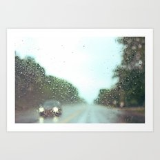 accidental photo Art Print