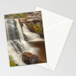 Blackwater Autumn Falls Stationery Cards