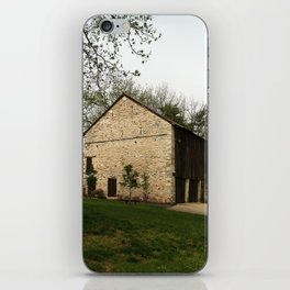 Barn at Duportail House iPhone Skin