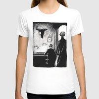 221b T-shirts featuring A 221B Scene by Carrianne Bullard