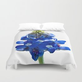 Just A Touch of Blue Duvet Cover