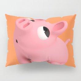 Rosa the Pig Shy Pillow Sham