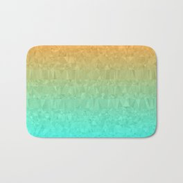 Blue and Orange Ombre - Flipped Bath Mat
