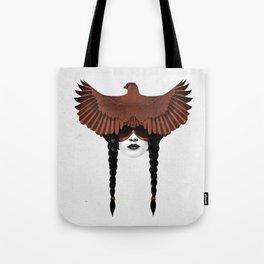 Dark Cardinal Tote Bag