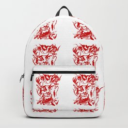 face12 red Backpack
