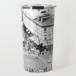 Street people in New York Travel Mug
