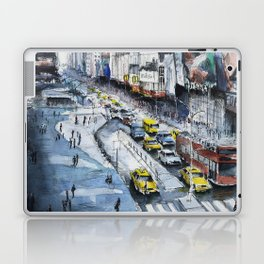 Time square - New York City Laptop & iPad Skin