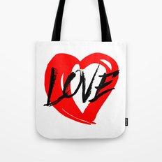 LOVE (MARKER) Tote Bag