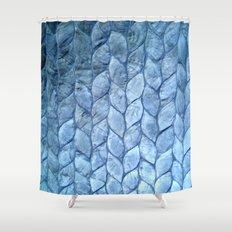 Ocean Blue Shell Shower Curtain
