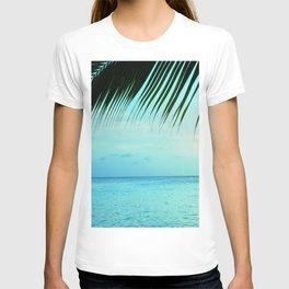 Caribbean Sunset Ocean Palm Dream #2 #tropical #beach #wall #decor #art #society6 T-shirt