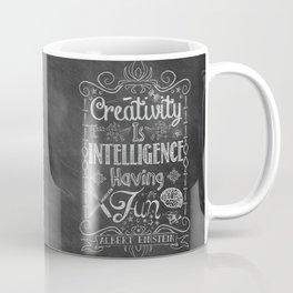 Creativity is Intelligence Having Fun Coffee Mug