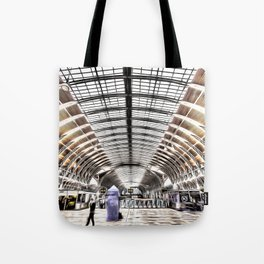Paddington Station London Art Tote Bag