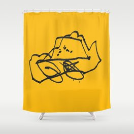 Owen's Car Shower Curtain