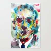 lovecraft Canvas Prints featuring LOVECRAFT by LAUTIR