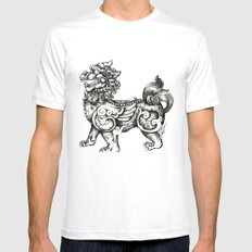 The guardian Mens Fitted Tee White MEDIUM
