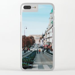 Oslo IV Clear iPhone Case
