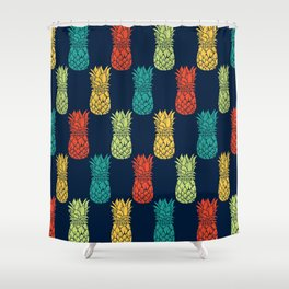 Pineapples Galore Shower Curtain