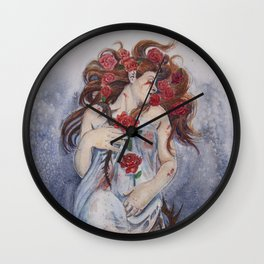 Beauty From Pain  Wall Clock