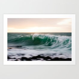 Dawn Wave Art Print