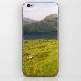Wales watercolour iPhone Skin