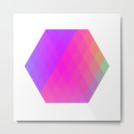 Hexagon? Metal Print