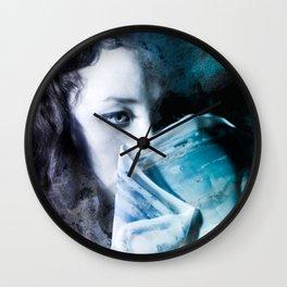 Watercolour photography Wall Clock