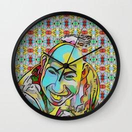 Portrait of a Sideshow Performer - Schlitzie Wall Clock