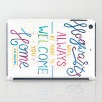 hogwarts iPad Cases featuring Hogwarts by IndigoEleven