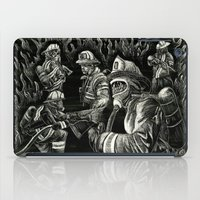 heroes iPad Cases featuring Heroes by Joshua Anthony