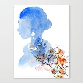 Flourals Canvas Print