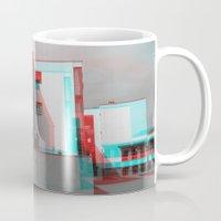 bauhaus Mugs featuring Bauhaus · Das Bauhaus 2 by Marko Köppe