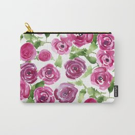 Brittarose Roses Carry-All Pouch
