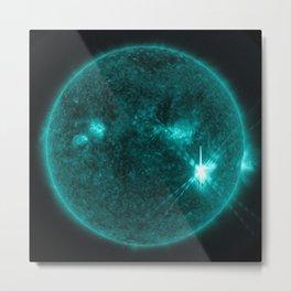 Solar Flares 4, Sept. 4, 2017 Metal Print