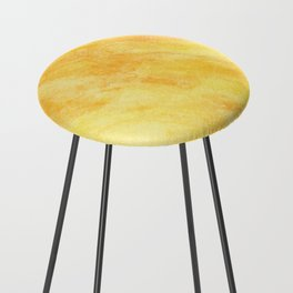 Watercolour Marble, Abstract watercolour art Counter Stool