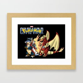 Pokémon: Civil War Framed Art Print