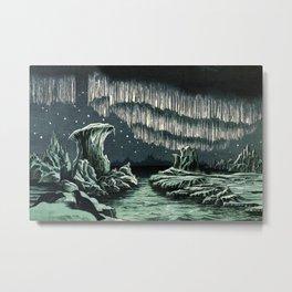Aurora Borealis in High Latitudes by William MacKenzie Metal Print